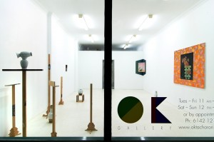 Anna John and Anna Kristensen Paintings and Sculptures OK Gallery