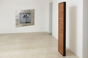 Artist Anna Kristensen Desert Window painting stainless steel Column Gallery 9 Render
