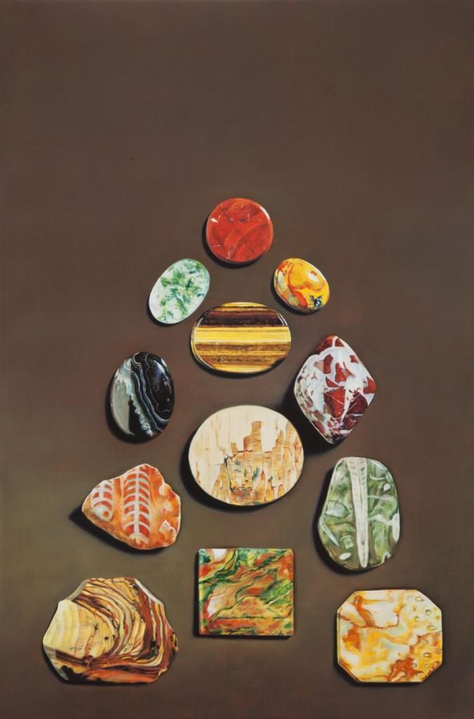 Anna Kristensen, Stone Pyramid, Chamber, Gallery 9