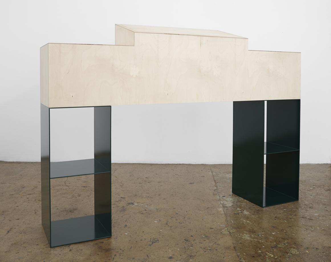 Artist Anna Kristensen Coat canvas nude reversible jacket monochrome painting minimalist sculpture BBQ altar funerary The Commercial