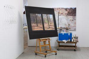Art Omi studio residency Anna Kristensen 2020